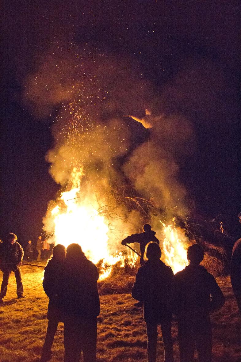 Carmentraud périt dans les flammes. (photo C. Oberto)