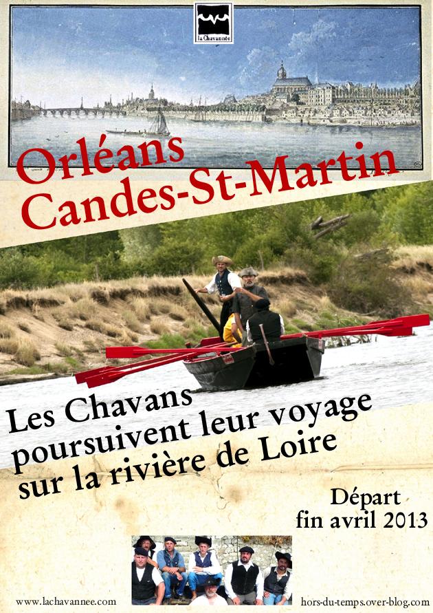 Affiche Orléans Candes 2013