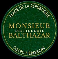 Etiquette M. Balthazar