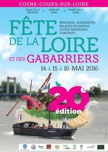 Affiche Fête Loire Cosne