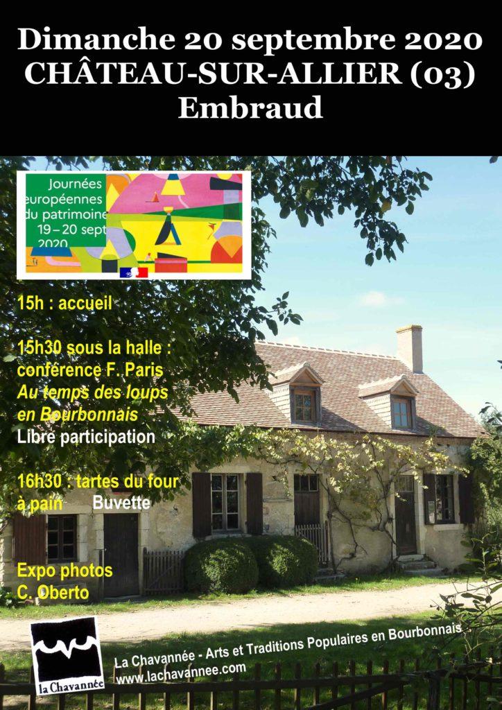 CHÂTEAU-SUR-ALLIER (03) Embraud