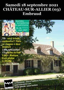 LE VEURDRE (03) - CHÂTEAU-SUR-ALLIER (03)
